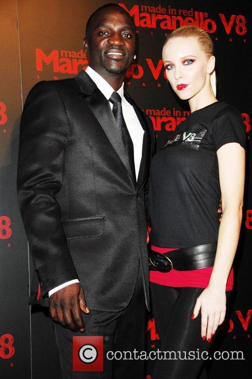 Akon and Model 9