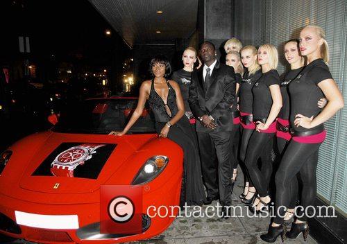 Akon and Models 3
