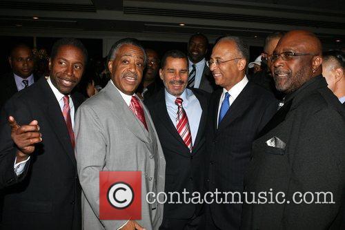 Malcolm Smith, Rev. Al Sharpton, Gov. David Paterson,...