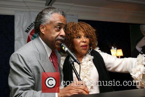 Rev. Al Sharpton and Roberta Flack Rev. Al...