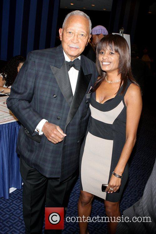 Former Mayor of NYC David Dinkins and Rachel...