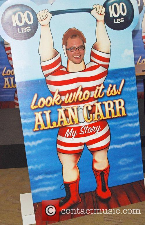 Comedian Alan Carr from the Friday Night Project...