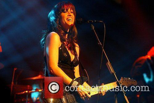 Alanis Morisstte perfoming live at Kings College London,...