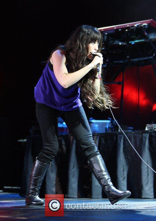 Alanis Morissette  performs in concert at Paradise...
