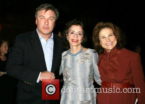 Alec Baldwin and guests at a party for...