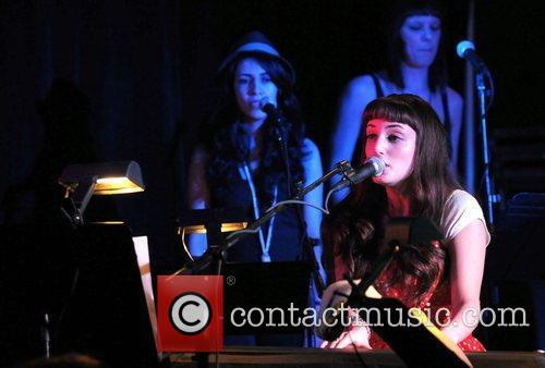 Alexa Ray Joel performs at the Hard Rock...