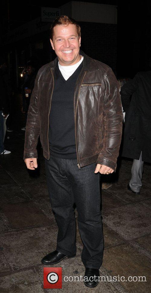 Daniel Evans leaving the Koko Club in Camden....