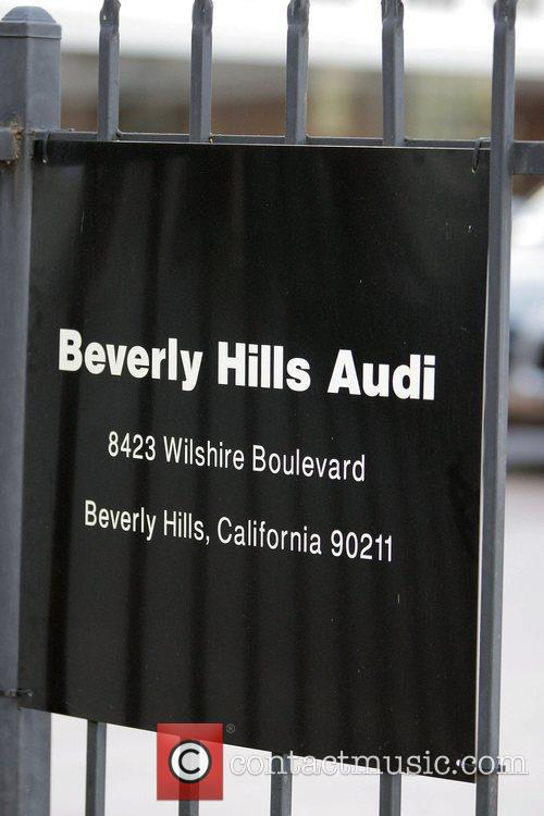 Beverly Hills Audi car dealer