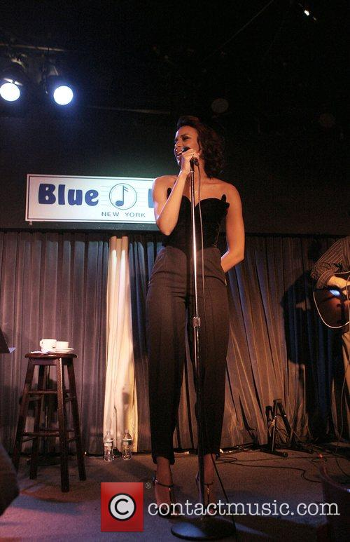 Alice Smith performing at The Blue Note jazz...