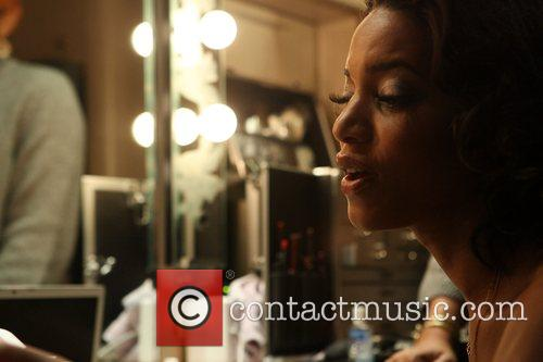 Backstage at The Blue Note jazz club