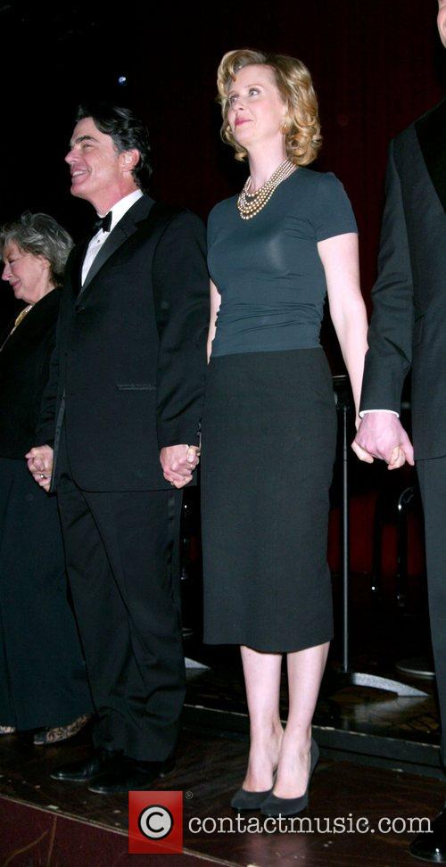 Peter Gallagher and Cynthia Nixon, Attends the Actor's...