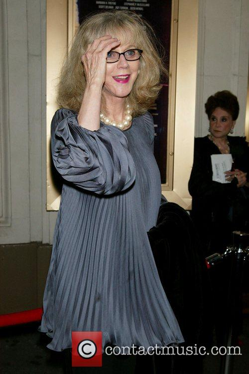 Blythe Danner Opening Night in 'All My Sons'...