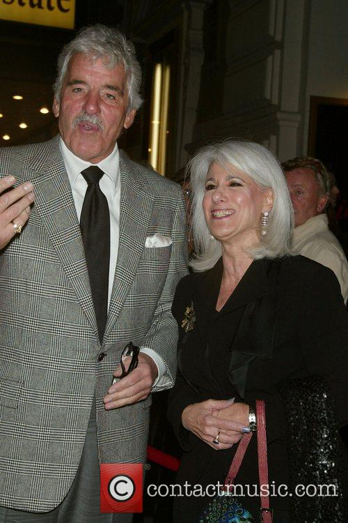 Dennis Farina, Jamie deRoy Opening Night in 'All...