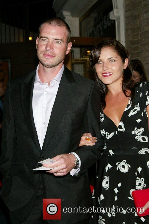 Scott Foley, Marika Dominczyk Opening Night in 'All...