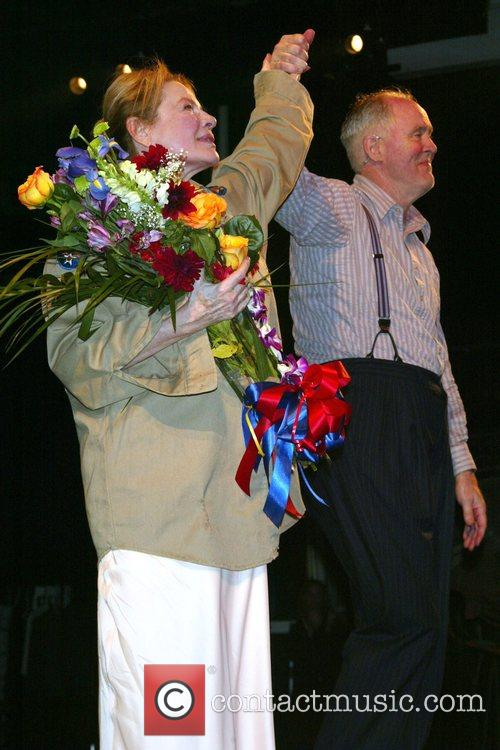 Dianne Wiest, John Lithgow Opening Night Curtain Call...