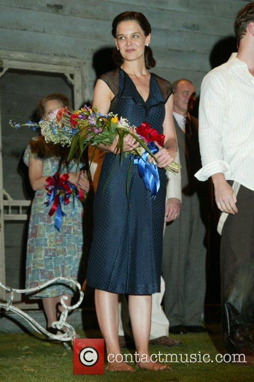 Katie Holmes, Patrick Wilson Opening Night Curtain Call...