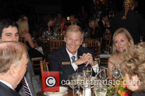 Senator Bill Nelson and guests  at the...