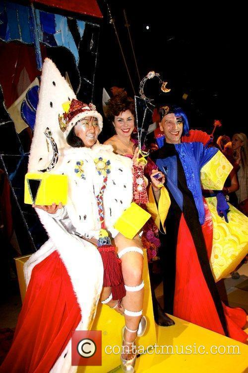 Winner Miss Fancy Chance, Ruby Wax and Andrew...