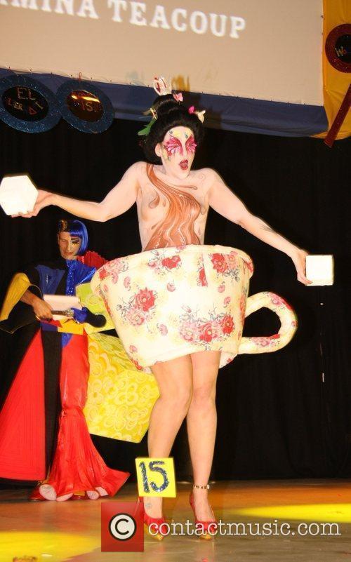 Winner Miss Fancy Chance Alternative Miss World 2009...