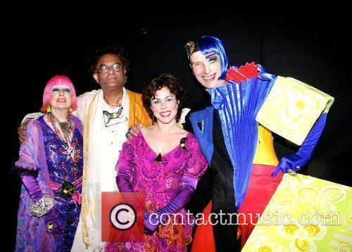 Zandra Rhodes, Rajeev Sethi, Ruby Wax and Andrew...