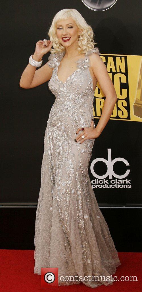 Christina Aguilera 2008 American Music Awardsheld at Nokia...