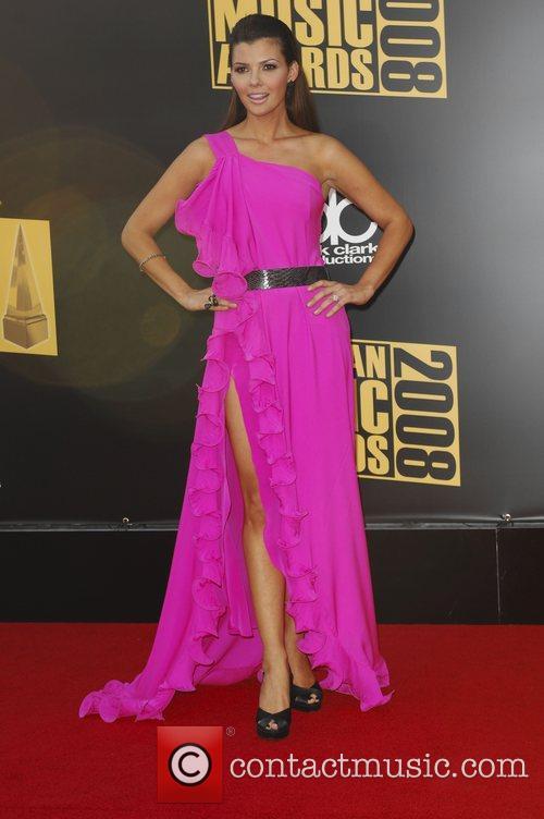 Ali Landry 2008 American Music Awards - Arrivals...
