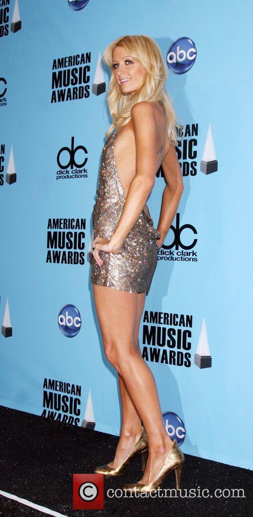 Paris Hilton American Music Awards 2008 held at...