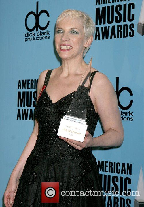 Annie Lennox - winner of award of merit...