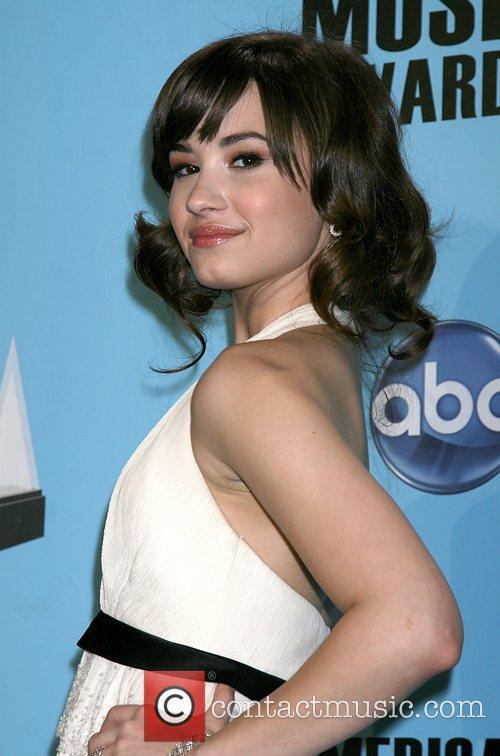 Demi Lovato American Music Awards 2008 held at...