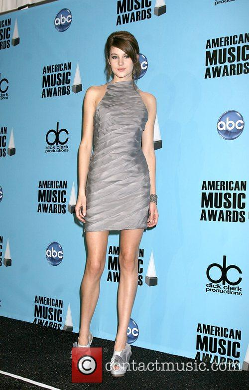 Shailene Woodley American Music Awards 2008 held at...