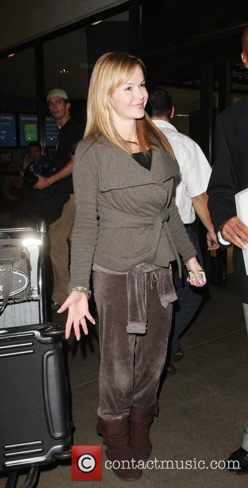 British actress and TV personality Amanda Holden arrives...