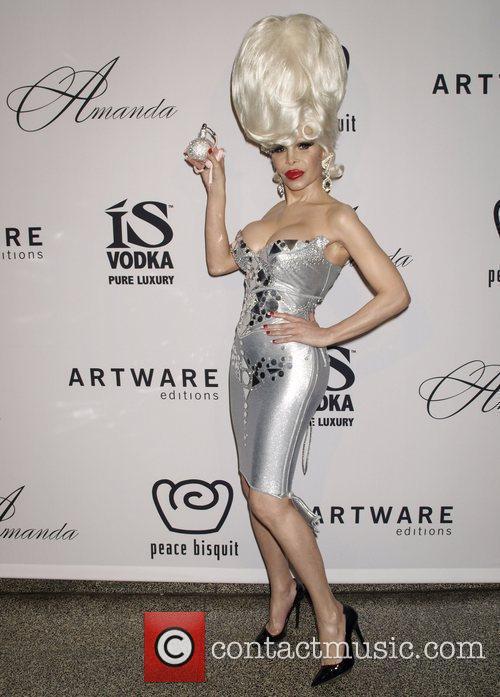 Transgendered starlet Amanda Lepore  launches her new...