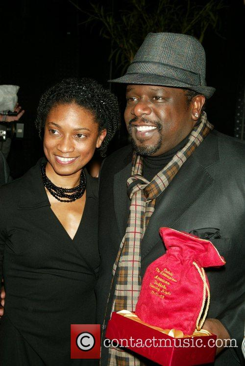 Cedric the Entertainer at the Opening Night after-party...