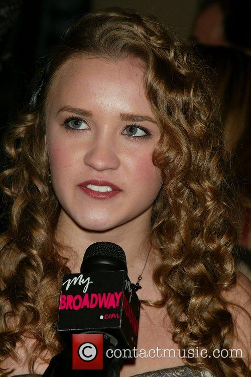 Emily Osment from the TV show Hannah Montana...