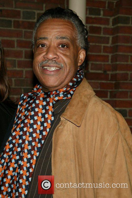 Rev. Al Sharpton Opening Night of the Broadway...