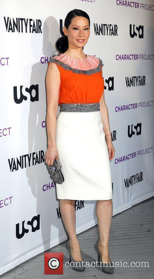 Lucy Liu USA Network's 'American Character: A Photographic...