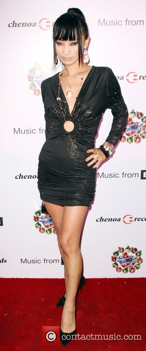 Bai Ling American Idol Christmas CD Release party...