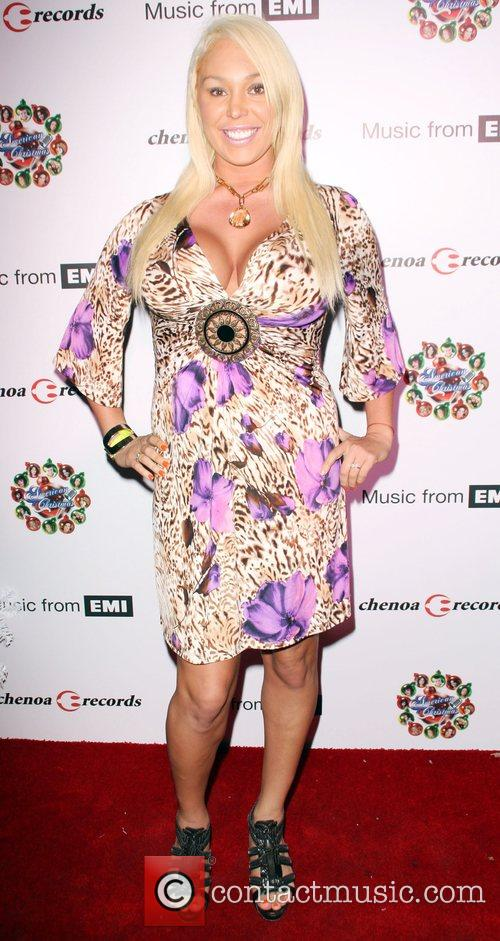 Mary Carey American Idol Christmas CD Release party...