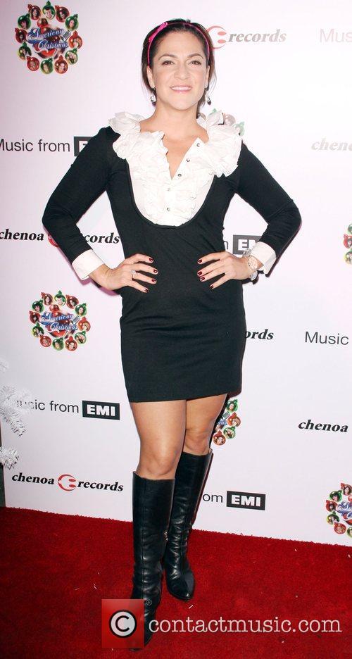 Shoshana Bean American Idol Christmas CD Release party...