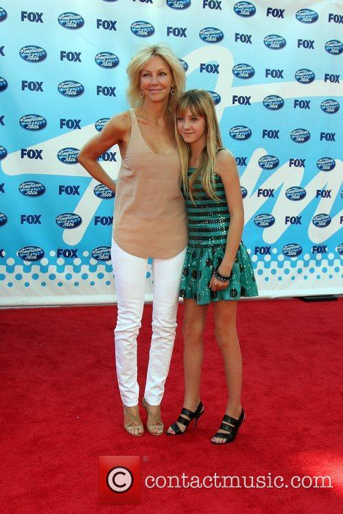 Heather Locklear and American Idol 1