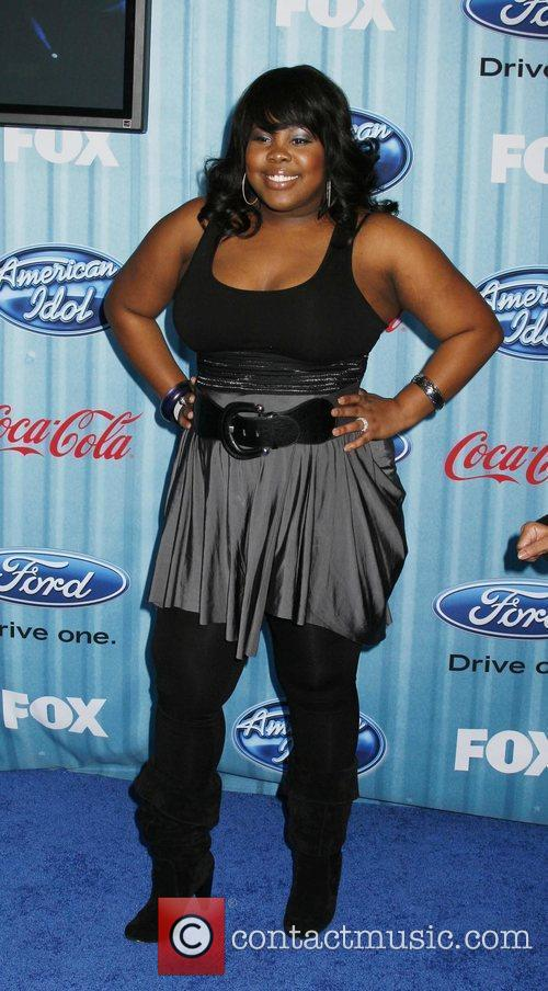 Amber Riley American Idol's 'The Top 12 Party'...