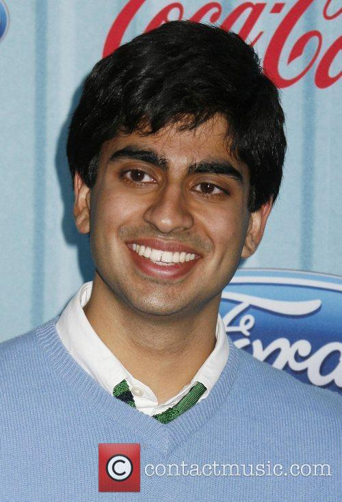 Anoop Desai American Idol's 'The Top 12 Party'...