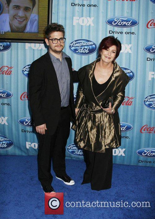 Jack Osbourne and Sharon Osbourne American Idol's 'The...