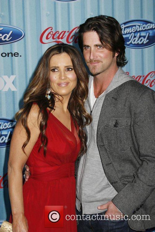 Jillian Reynolds and husband American Idol's 'The Top...