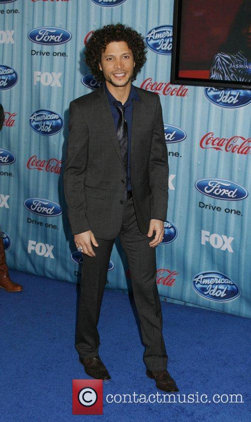 Justin Guarini American Idol's 'The Top 12 Party'...