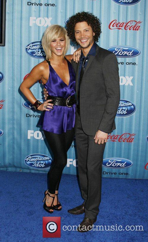 Justin Guarini and Kimberly Caldwell American Idol's 'The...
