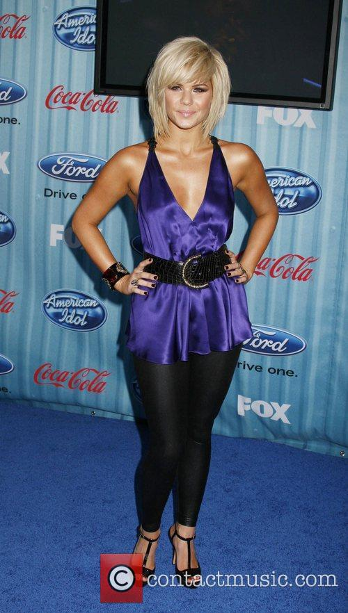 Kimberly Caldwell American Idol's 'The Top 12 Party'...
