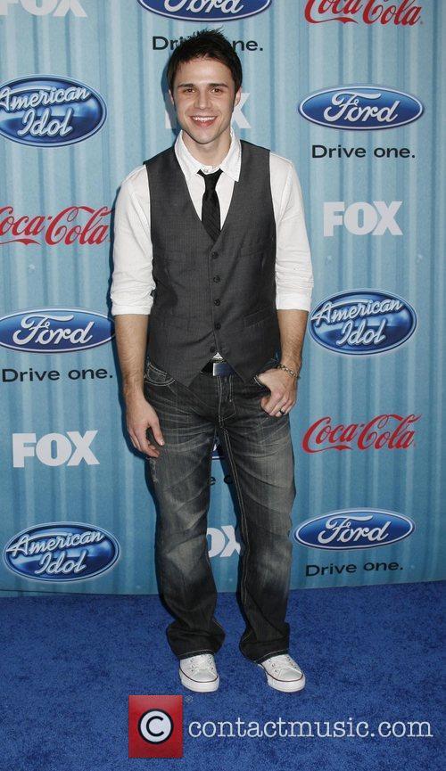 Kris Allen American Idol's 'The Top 12 Party'...