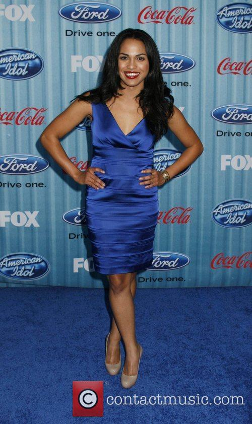Monica Raymund American Idol's 'The Top 12 Party'...
