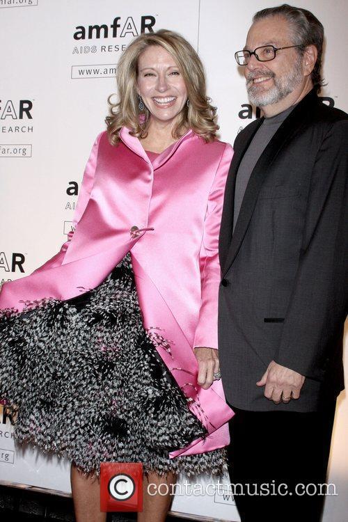 Cindy Rachofsky and Howard Rachofsky amfAR New York...